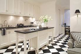 Black And White Kitchen Chairs - design ideas for white kitchens traditional home