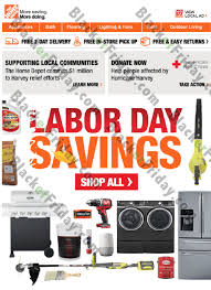 home depot black friday promos home depot labor day sale 2017 blacker friday