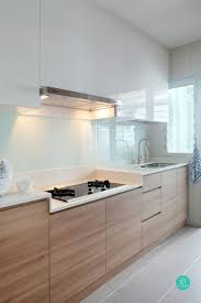 White And Wood Kitchen Cabinets Kitchen Room Enchanting White Kitchen Cabinets With Wood Trim 37