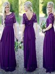 simple wedding dresses for brides purple lace bridesmaid dress half sleeve bridesmaid dress floor