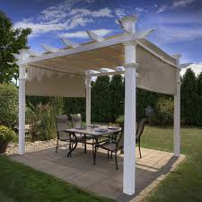 Pergola Roof Brackets by Pergola Design Ideas Lowes Outdoor Pergolas White Stained With