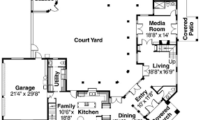 center courtyard house plans the 18 best house plans with courtyard building plans 19882