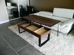 West Elm Coffee Table Coffee Tables Splendid Hand Made Terrys Lift Top Pop Up Walnut