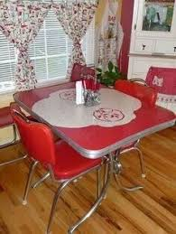 Best Retro Kitchen Tables Images On Pinterest Vintage Kitchen - Kitchen table retro