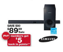 subwoofers on sale black friday samsung 2 1 channel 120 watt bluetooth soundbar with wired