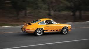 1973 rsr porsche 1973 porsche 911 carrera rs 2 7 touring