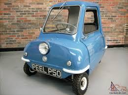 smallest cars peel p50 car classics