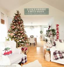 Classic Livingroom Classic Christmas Living Room Tour The Happy Housie