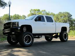 lifted white gmc lifted duramax wallpaper wallpapersafari
