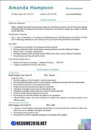 Resume For Bookkeeper 100 Bookkeeper Resume Examples Examples Resumes 93 Cool