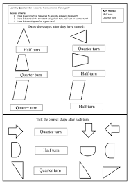 half and quarter turns by slinwood teaching resources tes