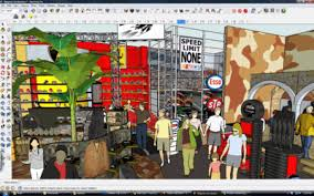 google sketchup editing groups and component trick geniusdv training
