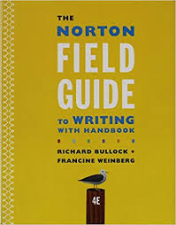 the norton field guide to amazon com the norton field guide to writing with handbook and