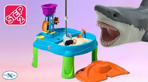 Step2 Duck Pond Water Table Step2 Water And Sand Table Shark Attack Water Pail Youtube