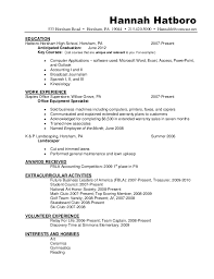 Additional Skills Resume Examples by Charming National Honor Society Resume Sample 29 With Additional