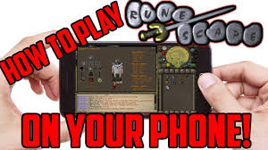 how to play runescape on android how to play oldschool runescape 2007 on your phone tablet