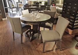 bermex bermex 42 x 42 round dining table with d apron base in 23b