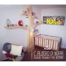 mensole per bambini albero mensola per le camerette dei bambini