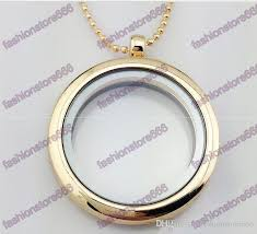 floating locket necklace chains images Wholesale hot 30mm floating locket necklaces with chain diy jpg