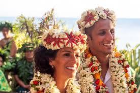 mariage alizee le mariage paradisiaque d alizée et olivier à tahiti mariage