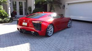 lexus lfa torque motrface com 2012 lexus lfa red video 3 of 3 youtube