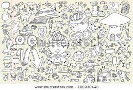 doodle vectors free doodle sketch vector elements set stock vector 106930448