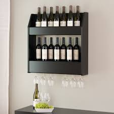 beautiful movable bar with wood pallet wine rack photograph wine
