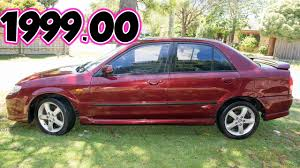 mazda 323 protege 2003 car sp20 4 door sedan 4 sale 2nd used youtube