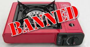 portable table top butane stove banned portable butane gas stoves expedition australia