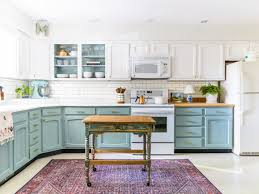what color should i paint my kitchen with gray cabinets chalk painted kitchen cabinets two years later