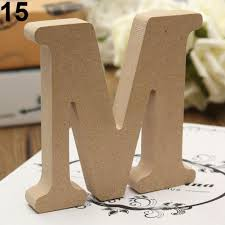 freestanding a z wood wooden letters hanging wedding home party