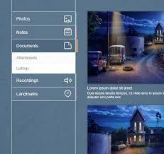 menu design resources flat vertical navigation menu widget psd