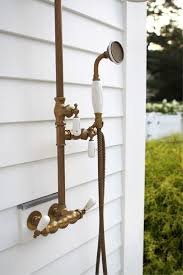 Outdoor Shower Head Copper - 17 best images about indiana outdoors on pinterest wall racks
