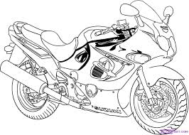 tattoo coloring pages how to draw a sport bike 2006 suzuki