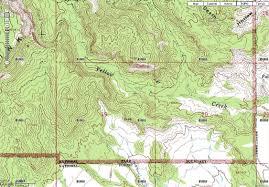 bryce map pdf file bryce national park yellow creek map jpg