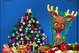 winter rudolph lights chrismtastree holidays reindeer
