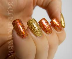 thanksgiving acrylic nails how you can do it at home pictures