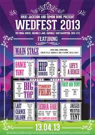 Wedding Table Themes Festival Poster Theme Wedding Table Seating Plans Wedfest