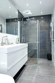 Grey Modern Bathroom Grey Bathroom Ideas Modern Elabrazo Info