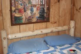 Pictures Of Log Beds by Frugal Families Blog Diy Log Bed