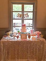 Pink And Gold Dessert Table by Blush And Gold Dessert Table Entertain Tie The Knot