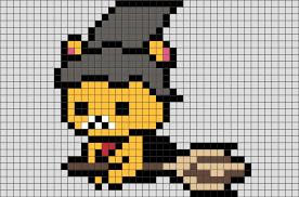 halloween rilakkuma pixel art u2013 brik