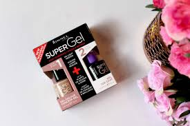 review rimmel super gel nail polish