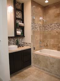 Bathrooms Ideas With Tile by Cozy Small Bathroom Shower With Tub Tile Design Ideas Small
