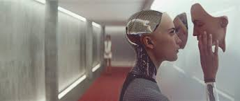 is caleb from ex machina a robot cinerama
