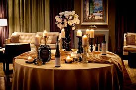 black and gold table decorations decorating of