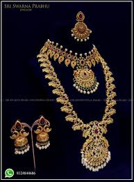 bridal set for rent wedding semi bridal set for rent sri swarna prabhu jewellery