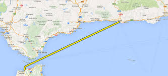 Tanger Map New Ferry Service Opened News From Spain Megafon