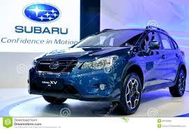 Sports Utility Vehicle Subaru Xv Editorial Photography Image