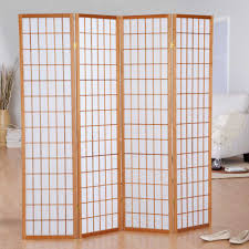 wicker room divider partition screen 4 panel room divider folding privacy screen